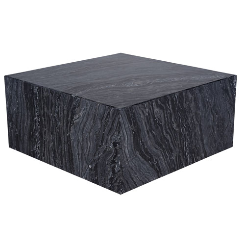 Matisse Matte Black Coffee Table