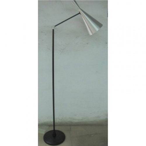 Lloyd Silver One-Light Floor Lamp
