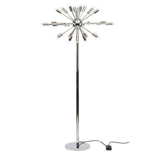 Vladimir Chrome 36-Light Floor Lamp