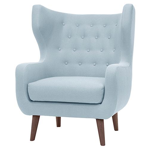 Valtere Caribbean Blue Armchair