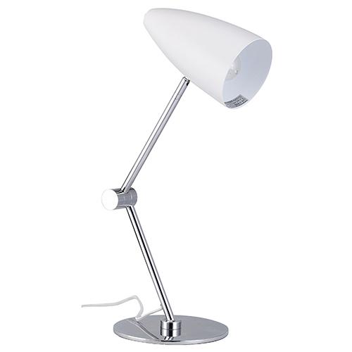 Phillipe White One-Light Table Lamp