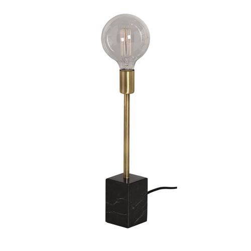 Ewen Brushed Brass One-Light Table Light