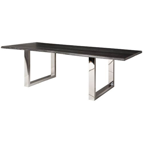 Lyon Oxidized Grey 78-Inch Dining Table