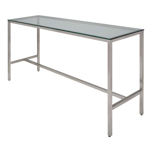Verona Clear Bar Table