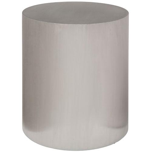 NUEVO Piston Silver Side Table