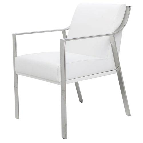 Valentine White Dining Chair