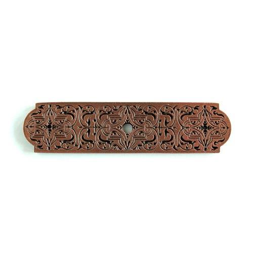 Antique Copper Renaissance Etch Back Plate