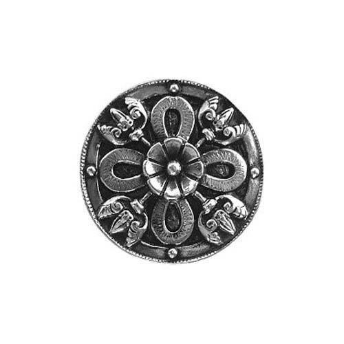 Brite Nickel Celtic Shield Knob
