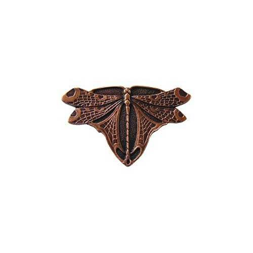 Antique Copper Dragonfly Knob