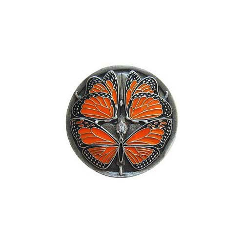 Pewter Monarch Butterflies Knob