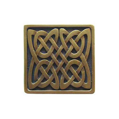 Antique Brass Celtic Isles Knob