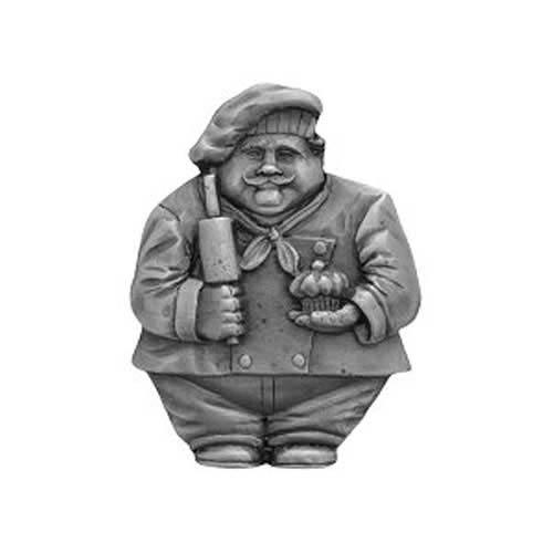 Antique Pewter Baker Knob