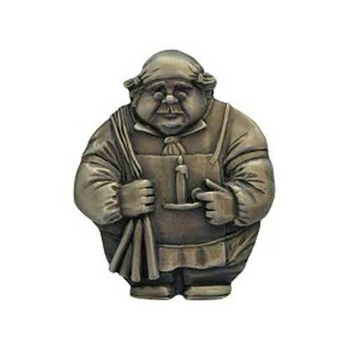 Antique Brass Candlestick Maker Knob