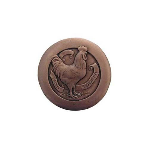 Antique Copper Rooster Knob