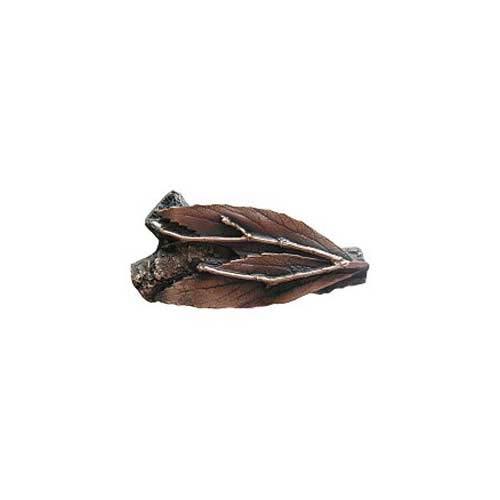 Antique Copper Leafy Twig Knob