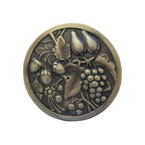 Notting Hill Decorative Hardware Antique Brass Tuscan Bounty Knob
