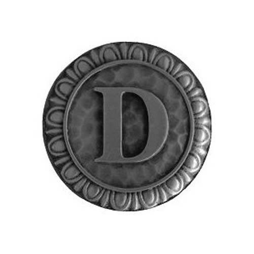 Antique Pewter 'D' Knob