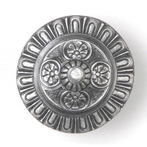 Notting Hill Decorative Hardware Antique Pewter Kensington Knob