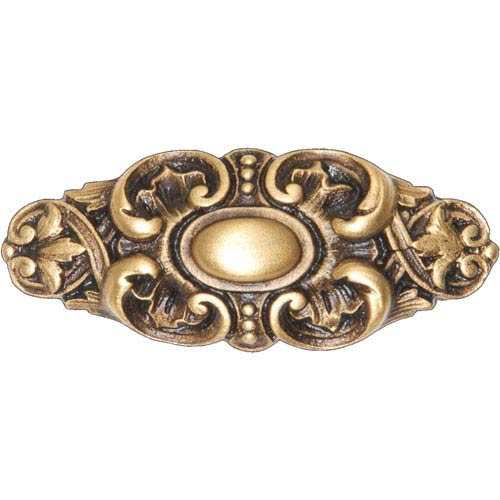 Notting Hill Decorative Hardware Queensway 24K Satin Gold Pull
