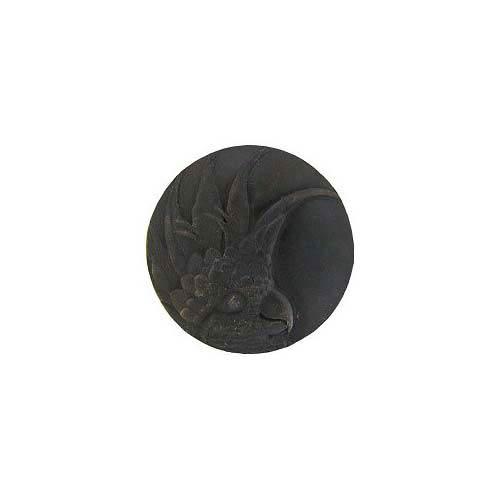 Dark Brass Large Cockatoo Knob-Left
