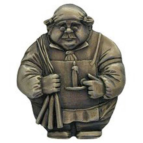 Notting Hill Decorative Hardware Antique Brass Candlestick Maker Magnet