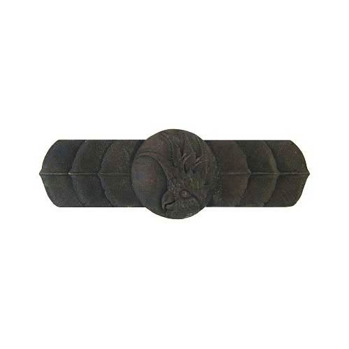 Dark Brass Cockatoo Horizontal Pull-Right