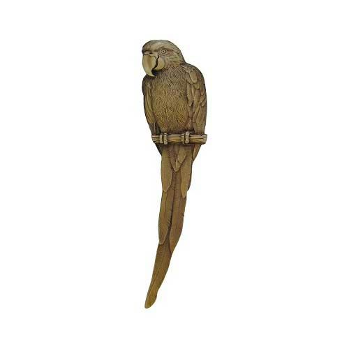 Antique Brass Parrot Pull-Right