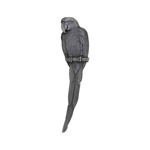Antique Pewter Parrot Pull-Right