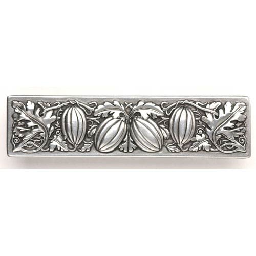 Notting Hill Decorative Hardware Brilliant Pewter Autumn Squash Pull