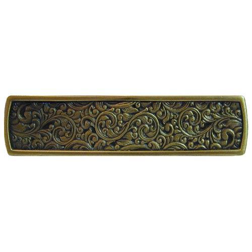 Notting Hill Decorative Hardware Antique Brass Saddleworth Pull