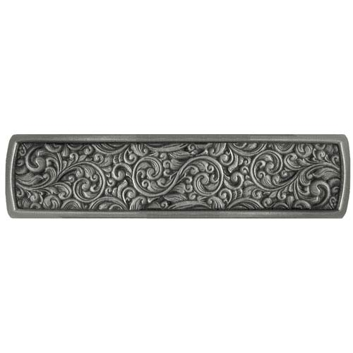 Notting Hill Decorative Hardware Antique Pewter Saddleworth Pull