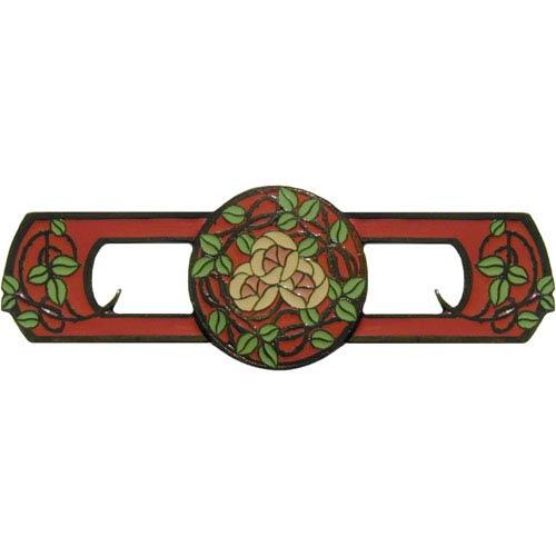 Notting Hill Decorative Hardware Dark Brass/Rose Delaneys Rose Pull