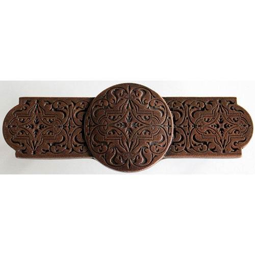 Notting Hill Decorative Hardware Antique Copper Renaissance Etch Pull
