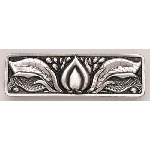 Notting Hill Decorative Hardware Brilliant Pewter Hope Blossom Pull
