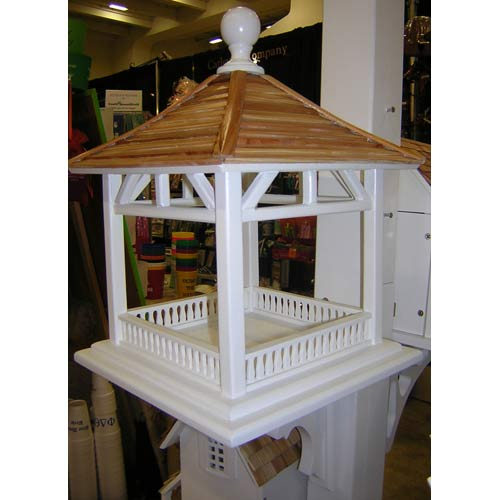Dream House White Bird Feeder