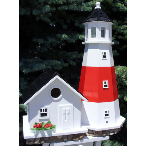 Home Bazaar Montauk Point Lighthouse Birdhouse