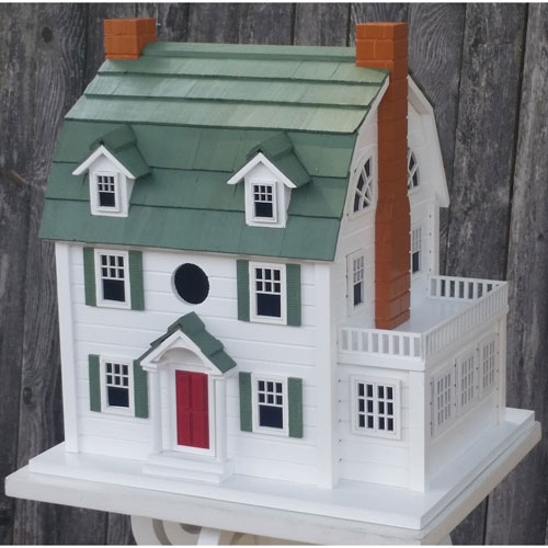 Signature Series White Dutch Colonial Birdhouse