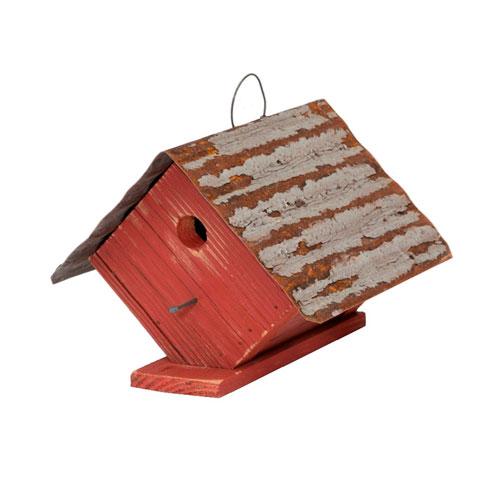 Wellsville Wren House - Red