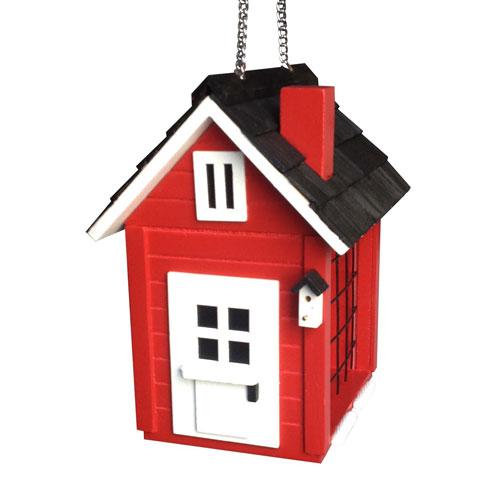 Cottage Suet Feeder (Red)