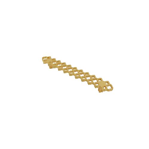 Polished Gold Granada 5 inch Cabinet Pull