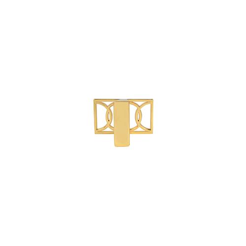 Polished Gold Symone Knob