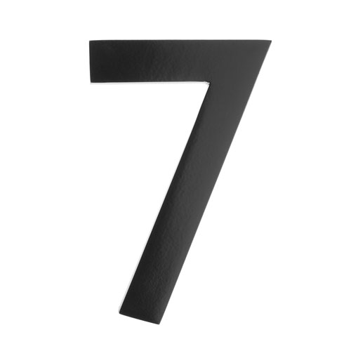 Architectural Mailboxes Five Inch Black Floating House Number 7