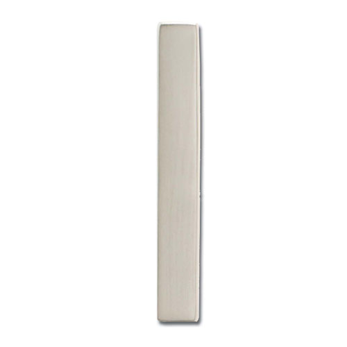 Five Inch Floating House Number Satin Nickel Inch1 Inch