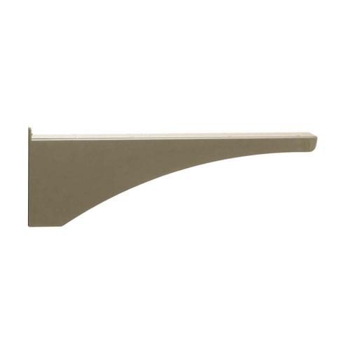 Architectural Mailboxes Decorative Post Side Support Bracket For Two Mailboxes Bronze