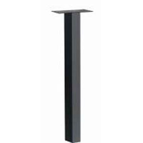 Architectural Mailboxes Standard In-Ground Post Black 53 Inch