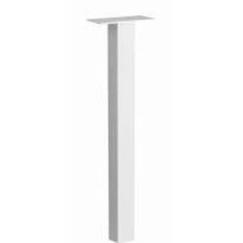 Architectural Mailboxes Standard In-Ground Post White 53 Inch
