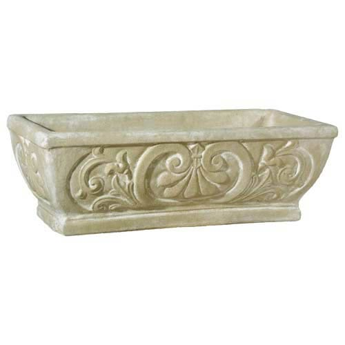 Orlandi Statuary Inc Pompeii Fleur De Lis Outdoor Pot