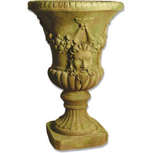 Orlandi Statuary Inc. Centurion Fiberglass Urn - Verde Finish