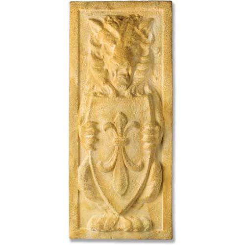Orlandi Statuary Inc. Pompeii Sentinel Lion Plaque