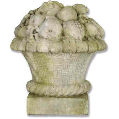 White Moss Astor Basket